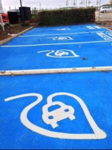 Electric Car Spaces